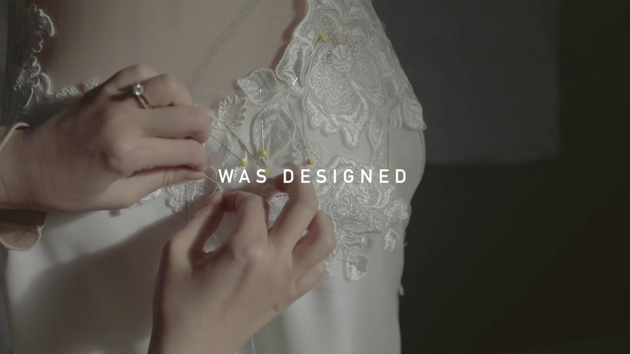 Making your custom wedding dress