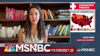 Nurse in COVID-19 Vaccine Trial Experiences '104.9 Fever' | MSNBC