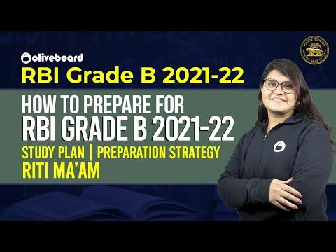 How to prepare for RBI Grade B 2021-22   Study Plan   Preparation Strategy   Riti Ma'am
