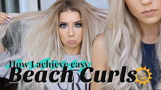 Quick Beach Curls | How To Quickie Tutorial