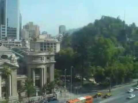 Chile: Biblioteca Nacional y Cerro Santa Lucia, Santiago (3/4) 2013-12-23(Mon)0939hrs