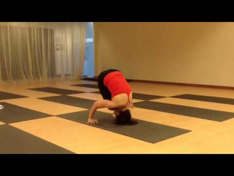 14 headstand no arms  yoga poses