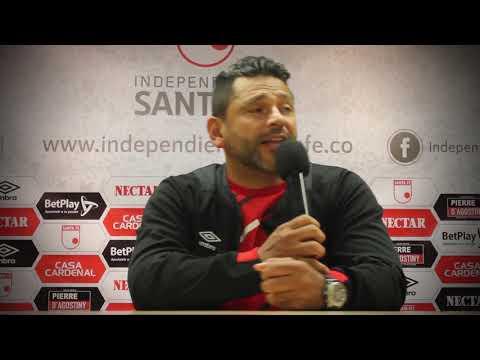 [Rueda de prensa Gerardo Bedoya] Santa Fe (1) – Cali (2) :: Liga Águila I - 2019