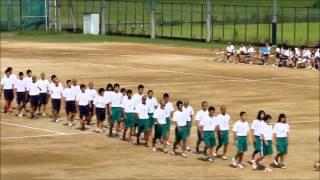 奈良県立大和広陵高校 2014 集団行動