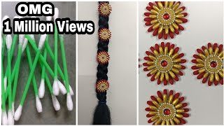Jada Billalu Making with Ear Buds | DIY | Ear Buds Craft
