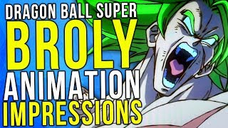 Dragon Ball Super Broly - Animation Review