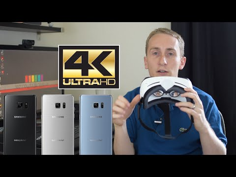 Galaxy Note 7 | Where is the 4K Gear VR ?!