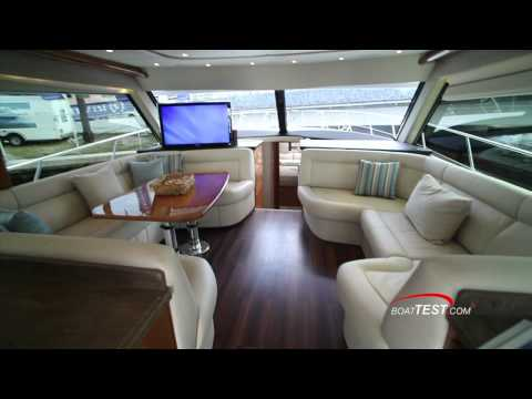 Riviera 53 Enclosed Flybridge Review 2012- By BoatTest.com