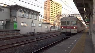 東急8590系 春日部駅入線