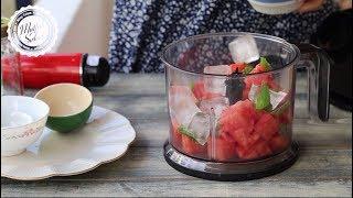 Sıcaklara kesin çözüm! Karpuz Frozen Tarifi - Mutfak Sırları