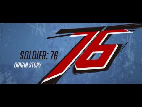 Overwatch - Origin Soldier 76