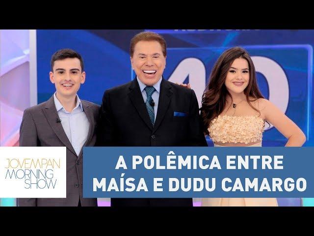 Silvio Santos constrange Maísa e Dudu Camargo ao tentar forçar algo entre os dois | Morning Show