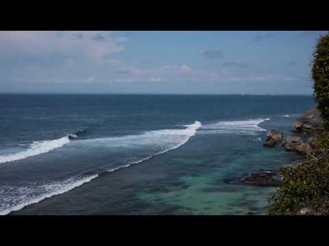 IndianOcean View from Uluwatu  BALI.wmv