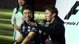 [2017 F1]日本GP前夜祭3 佐藤琢磨&小林可夢偉 トークショー Takuma Sato & Kamui Kobayashi's talk show