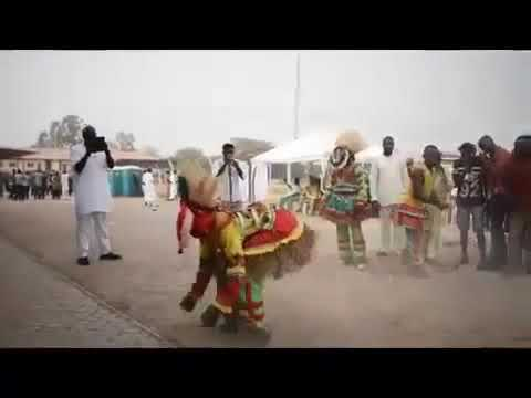 Download Coronation of Attah of Igala dancing massey