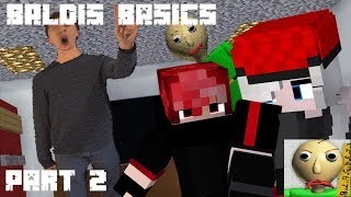 Baldiand39s Basics In Educations And Learning Horror Survival  Part 2  - Minecraft Animation