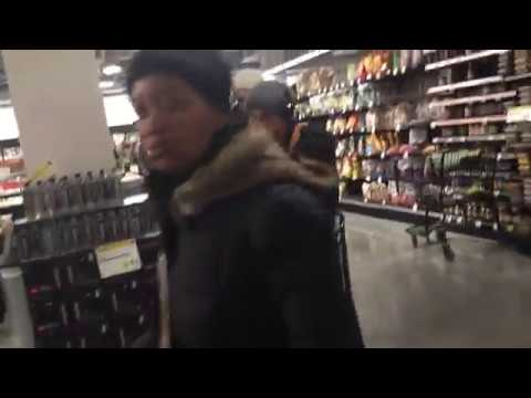 Thumbnail: Pre-blizzard line at Whole Foods Williamsburg, March 13, 2017