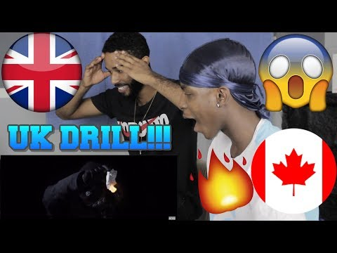 CANADIANS REACT TO UK DRILL | CB-Talk On My Name