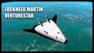 Lockheed Martin VentureStar - Orbiter Space Flight Simulator