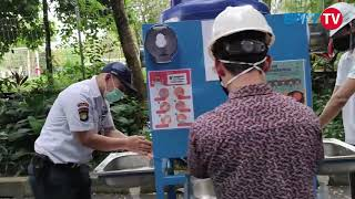 Mobile Hand Washer kapasitas 300 liter