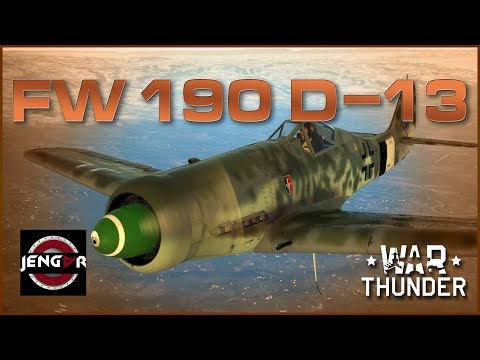 War Thunder Premium Review: Fw 190 D-13...