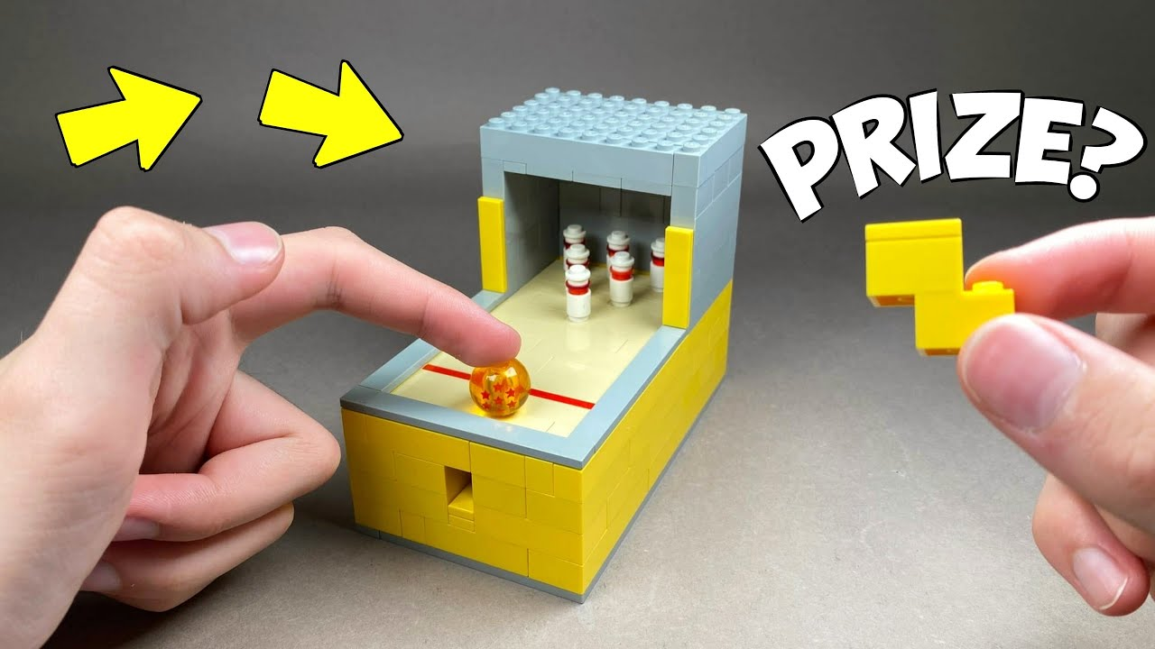 How to make a Lego Bowling Machine - Easy Lego Tutorial