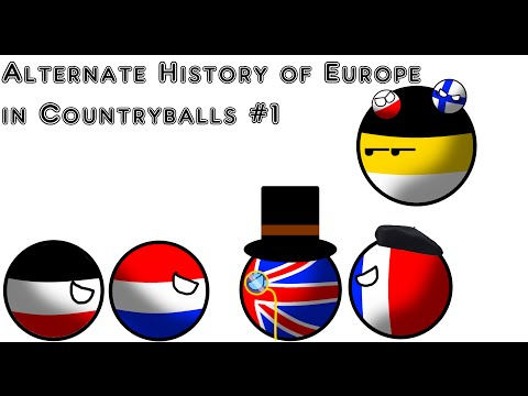 Alternate History of Europe in Countryballs | Part 1 | Unions |