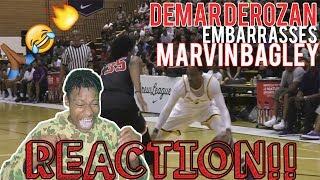 demar derozan humbles 1 high school player throws ball him scores 30 with no effort reaction