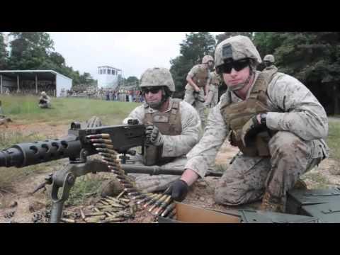 Marines Weapons Training at Quantico, Virginia