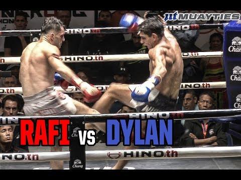 Muay Thai  Rafi vs Dylan ราฟฟี่ vs ดีแลน, Lumpinee Stadium, Bangkok, 27.2.18.