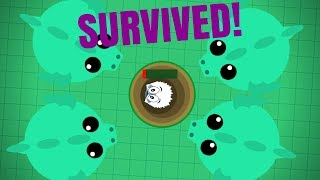 Mope.io - GREATEST SURVIVAL EVER + REVENGE!! ORCA AND YETI TROLLING WITH FORTISH! (Mope.io Trolling)