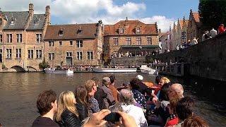 Los canales de Brujas, la Venecia del norte