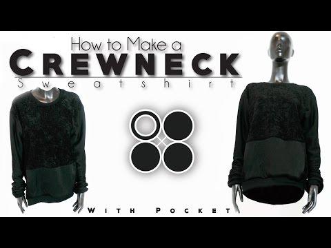 How To Make Crewneck Sweatshirt