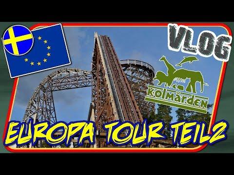 Endlich Wildfire! Kolmården & Stockholm - Europa Tour Teil 2 [VLOG #44]