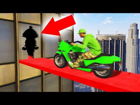 MOTORBIKE PRECISION ON SKYSCRAPERS! (GTA 5 Funny Moments)