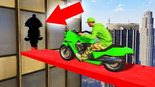 MOTORBIKE PRECISION ON SKYSCRAPERS! (GTA 5 Funny Moments)