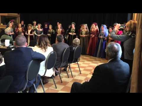 "Shasta High School Madrigals Perform ""Merry Christmas"" for the California Arts Council"