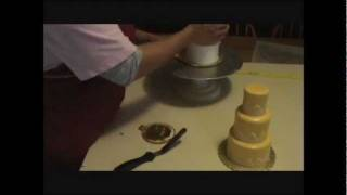Miniature Tiered Cakes - Poured Fondant