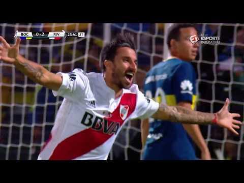 Melhores Momentos - Boca Juniors 0 X 2 River Plate - Supercopa Argentina (14/03/2018)