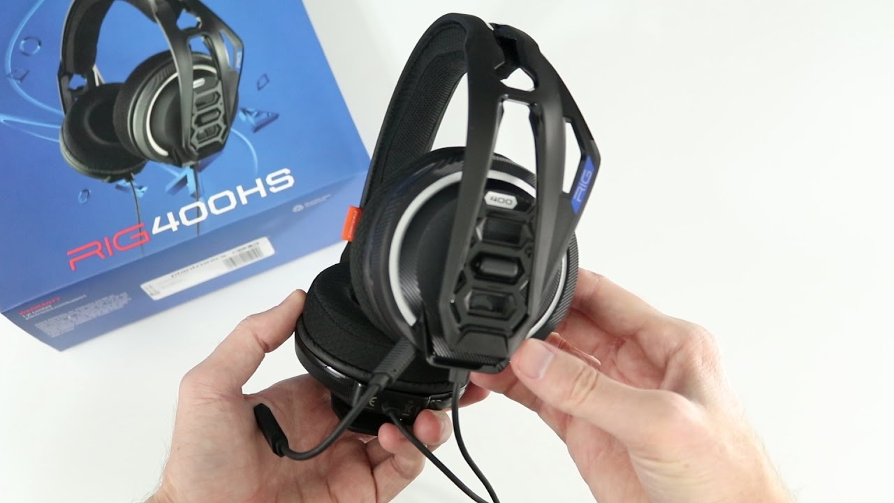 7787922167d Plantronics RIG 400HS Gaming Headset Review - YouTube