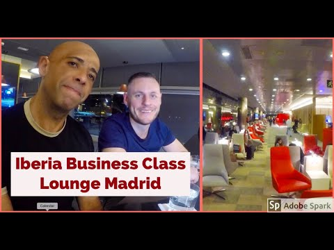 Iberia Airlines Velazquez Business Class Lounge | One Of The Best 'One World' Lounges In Europe