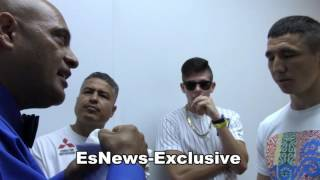 Boxing Referee Behind The Scenes Instructions Before  A Pro Fight EsNews Boxing