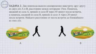 Методика решения задач на прямолинейное равномерное движение