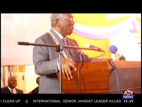 Kufuor Honoured - News Desk on JoyNews (29-8-18)