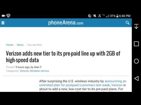 Verizon Adds a 2GB High-speed Data Smartphone Plan to Its Prepaid Plans Starting February 21st, 2017