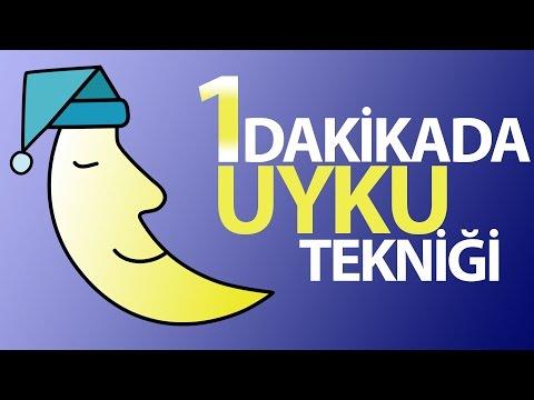 Uyku sorunu olanlar için 1 dakikada uyuma tekniği (Açıklamayı okuyun!)