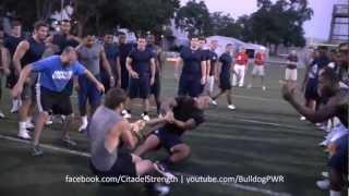 Citadel Football: High Intensity Conditioning