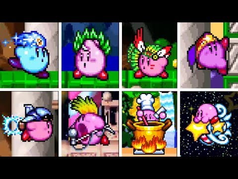 Kirby Super Star - All Copy Abilities