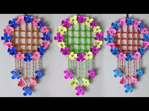 Beautiful Wall Craft With Paper | Easy Paper Craft Project You Can Make at Home