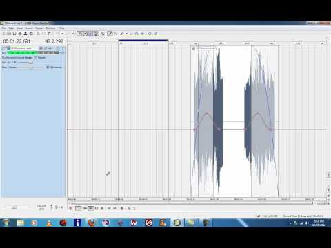 Sony Acid Music Studio 8 Tutorial Fade in and Fade out www.robtransini.com
